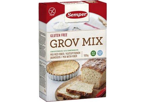 Semper Vezelbroodmix (Grov Mix)