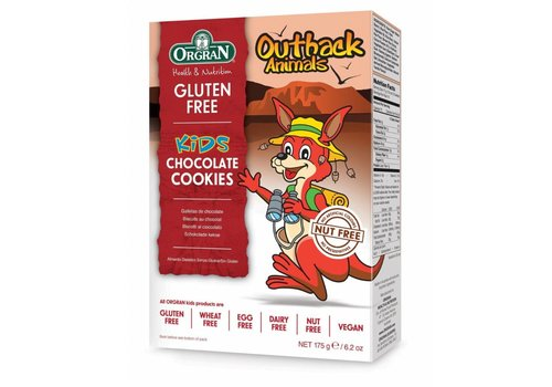 Orgran Outback Animals Chocolate Cookies