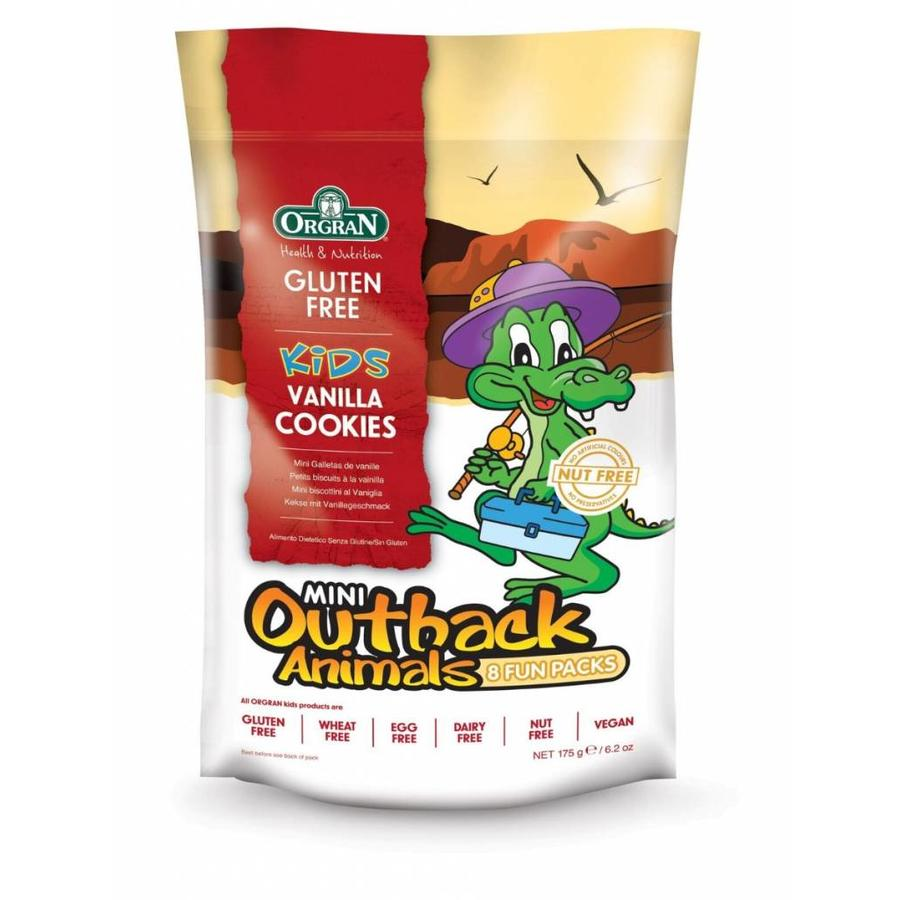 Mini Outback Animals Vanilla Cookies Multipack