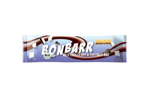 Bonvita Bonbarr Melkchocolade met Kokos Biologisch