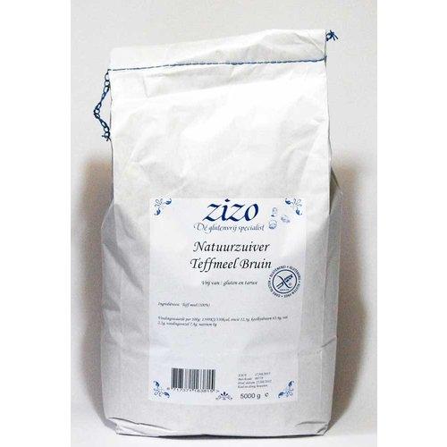 Zizo Teffmeel Bruin 5 Kilo