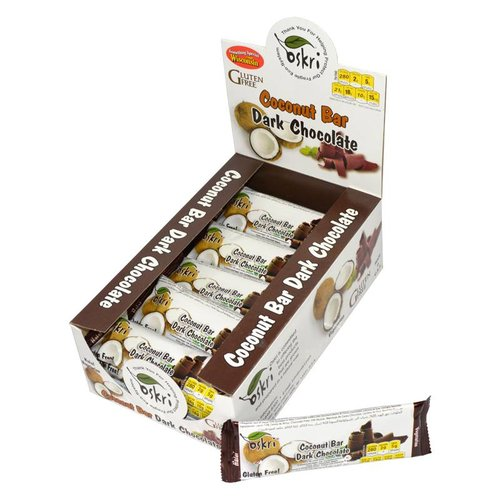 Oskri Kokos Reep met Pure Chocolade