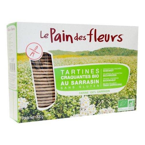 Le Pain des Fleurs Boekweit Crackers Grootverpakking Biologisch