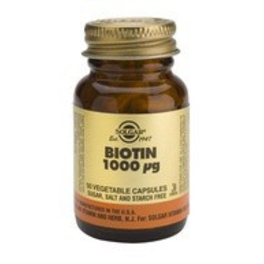Biotin 1000 µg (50 capsules)