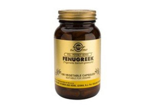 Solgar Fenugreek (Fenegriek) (100 capsules)