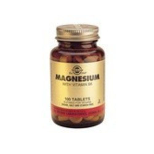 Solgar Magnesium met Vitamine B-6 (100 tabletten)