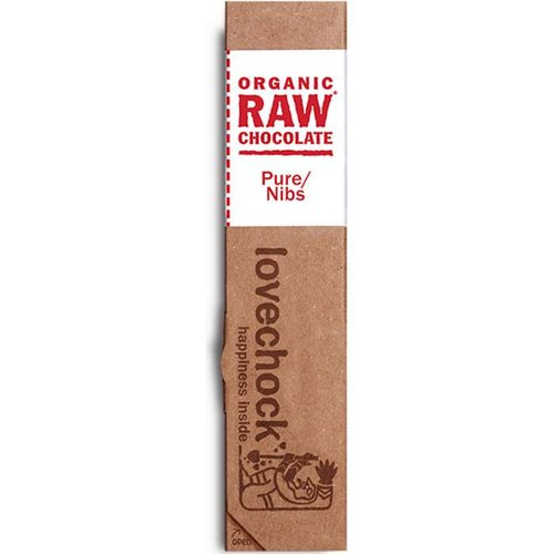 Lovechock Raw Chocolate Pure Nibs Biologisch