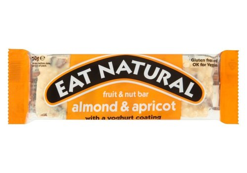 Eat Natural Almonds Apricots Yoghurt Coating