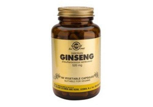 Solgar Ginseng Siberian 520 mg (100 capsules)