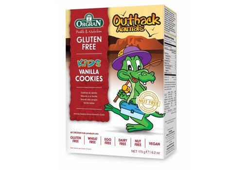 Orgran Outback Animals Vanille Cookies