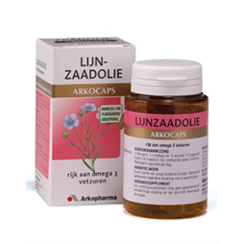 Arkocaps Lijnzaadolie (45 capsules)