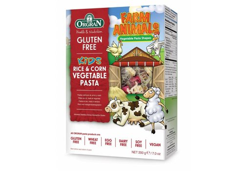 Orgran Boerderijdieren Pasta (Farm Animals)