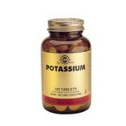 Solgar Potassium (Kalium) (100 tabletten)