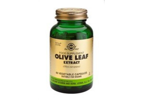 Solgar Olive Leaf Extract (Olijfblad) (60 capsules)