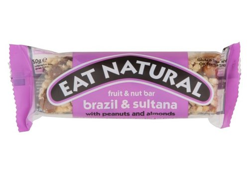 Eat Natural Brazils Sultanas Almonds and Hazelnuts