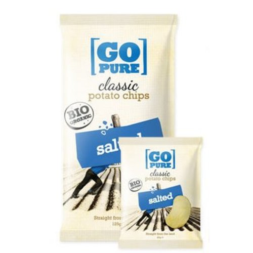 GoPure Classic Potato Chips Salted Biologisch