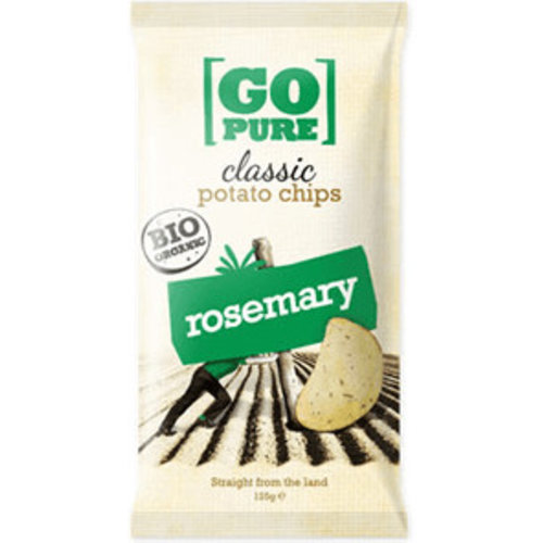 GoPure Classic Potato Chips Rosemary Biologisch