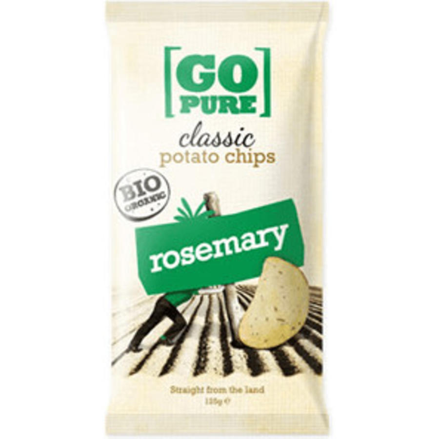 Classic Potato Chips Rosemary Biologisch