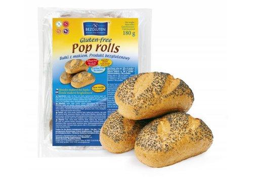 Bezgluten Maanzaad Broodjes 3 Stuks