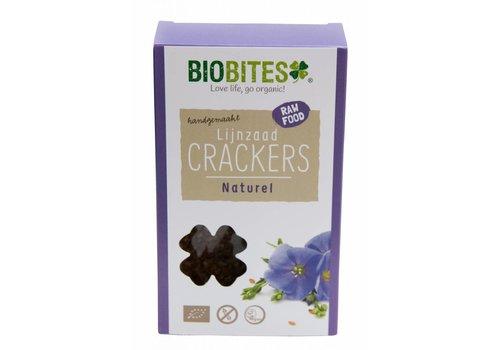 BioBites Lijnzaadcrackers Naturel Biologisch