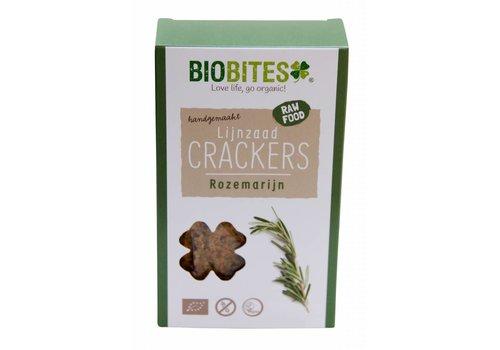 BioBites Lijnzaadcrackers met Rozemarijn Biologisch