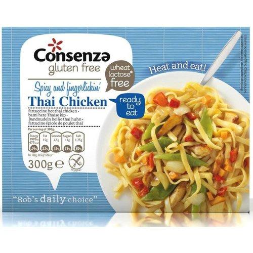 Consenza Fettucine hete Thaise kip