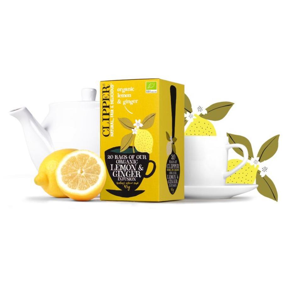 citroen en gember thee