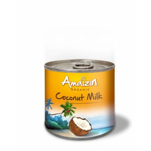 Amaizin Kokosmelk 200 ml Biologisch