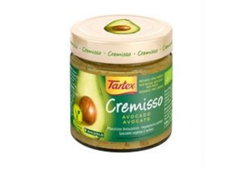 Tartex Cremisso Spread Avocado Biologisch