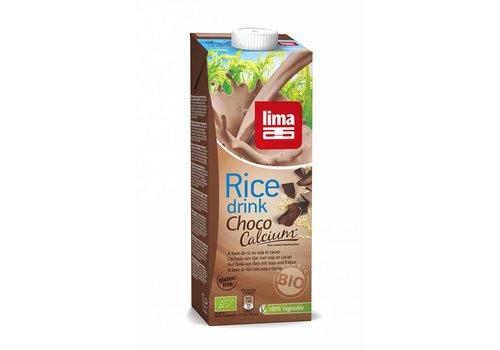 Lima Rijstdrink Choco met Calcium Biologisch