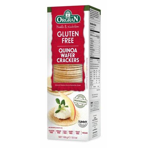 Orgran Multigrain Quinoa Wafer Crackers