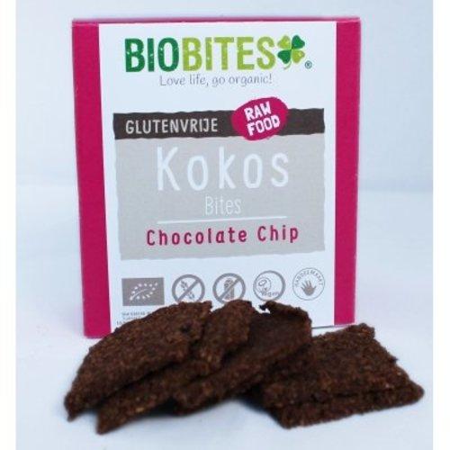BioBites Kokos bites Chocolate chip Biologisch