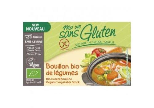 Ma Vie Sans Gluten Groentebouillon Gistvrij 8 Blokjes Biologisch