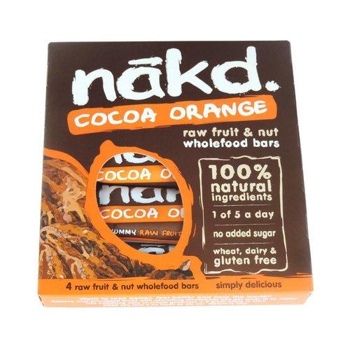 Nakd Cocoa Orange 4-pack
