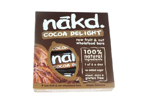 Nakd Cocoa Delight 4-pack