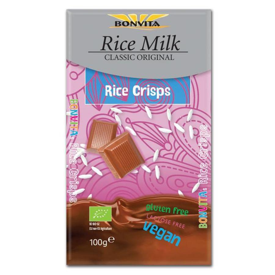Rijstmelk Chocolade Crisp Biologisch
