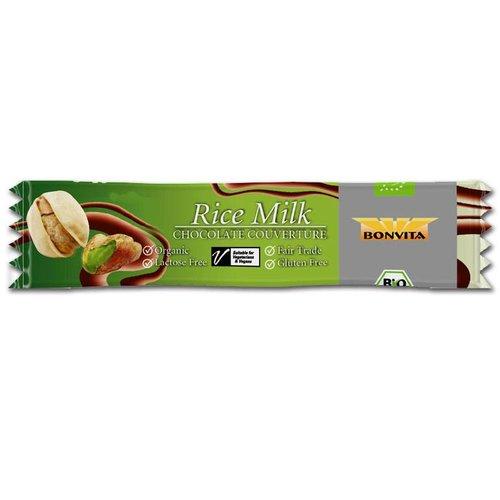 Bonvita Rijstmelk Chocolade Pistache Biologisch