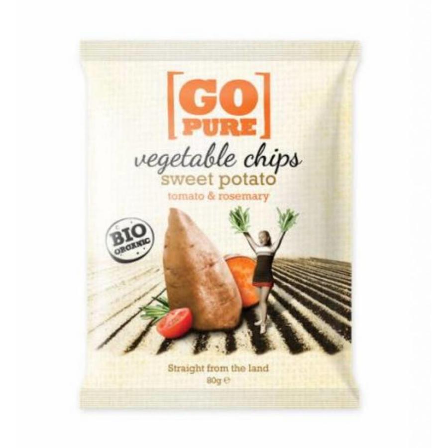 Zoete Aardappel Chips Biologisch