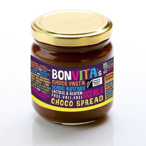 Bonvita Rijstmelk Chocolade Pasta Biologisch