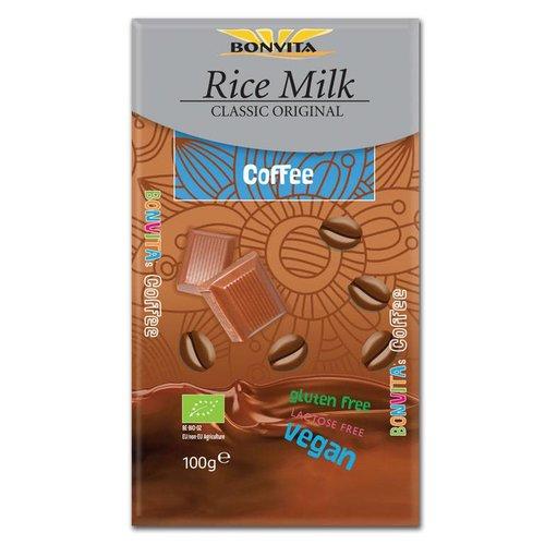 Bonvita Rijstmelk Chocolade met Koffie Biologisch