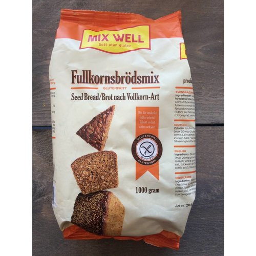 Mixwell Volkoren broodmix 204