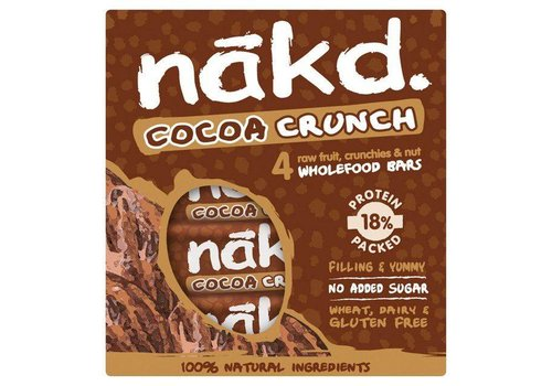 Nakd Cocoa Crunch Bars 4-Pack