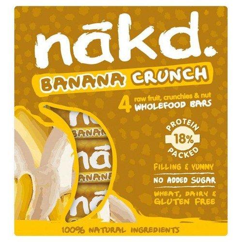 Nakd Banana Crunch Bars 4-Pack