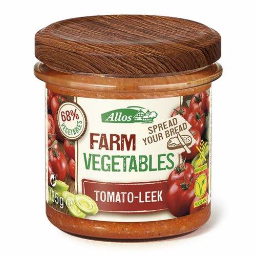 Allos Groentespread met Tomaat en Prei Biologisch