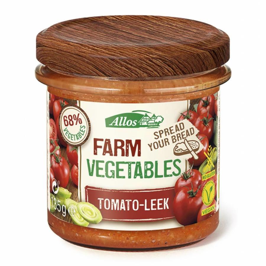 Groentespread met Tomaat en Prei Biologisch
