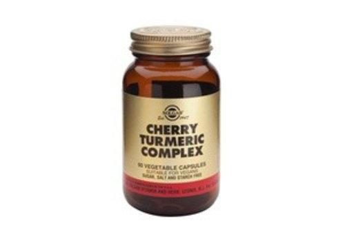 Solgar Cherry Turmeric Complex (Kers-/geelwortel) (60 capsules)