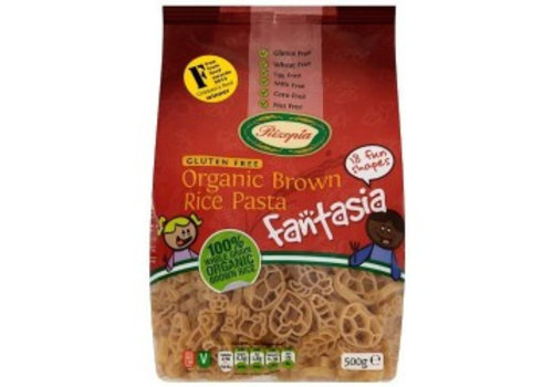 Rizopia Bruine Rijst Pasta Fantasia Biologisch