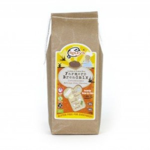 Roley's Farmer's Breadmix Haverbroodmix Biologisch