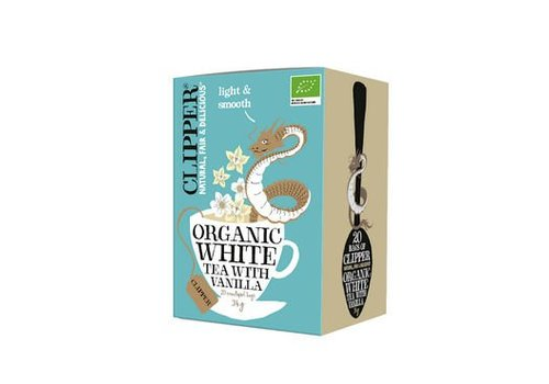 Clipper Organic White Tea With Vanilla Biologisch 20 Zakjes