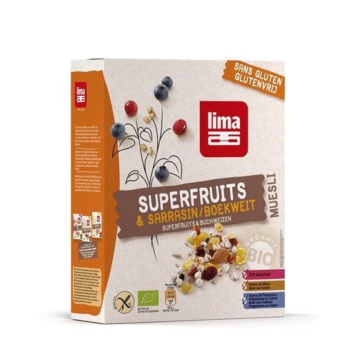 Lima Superfruit Muesli Biologisch